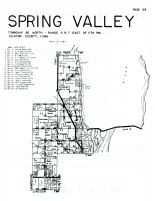 Spring Valley, Clinton County 1960
